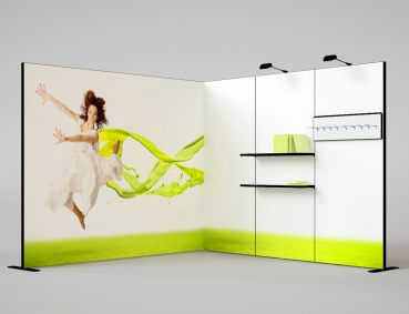 3x3m Messe/ Promotionsstand System